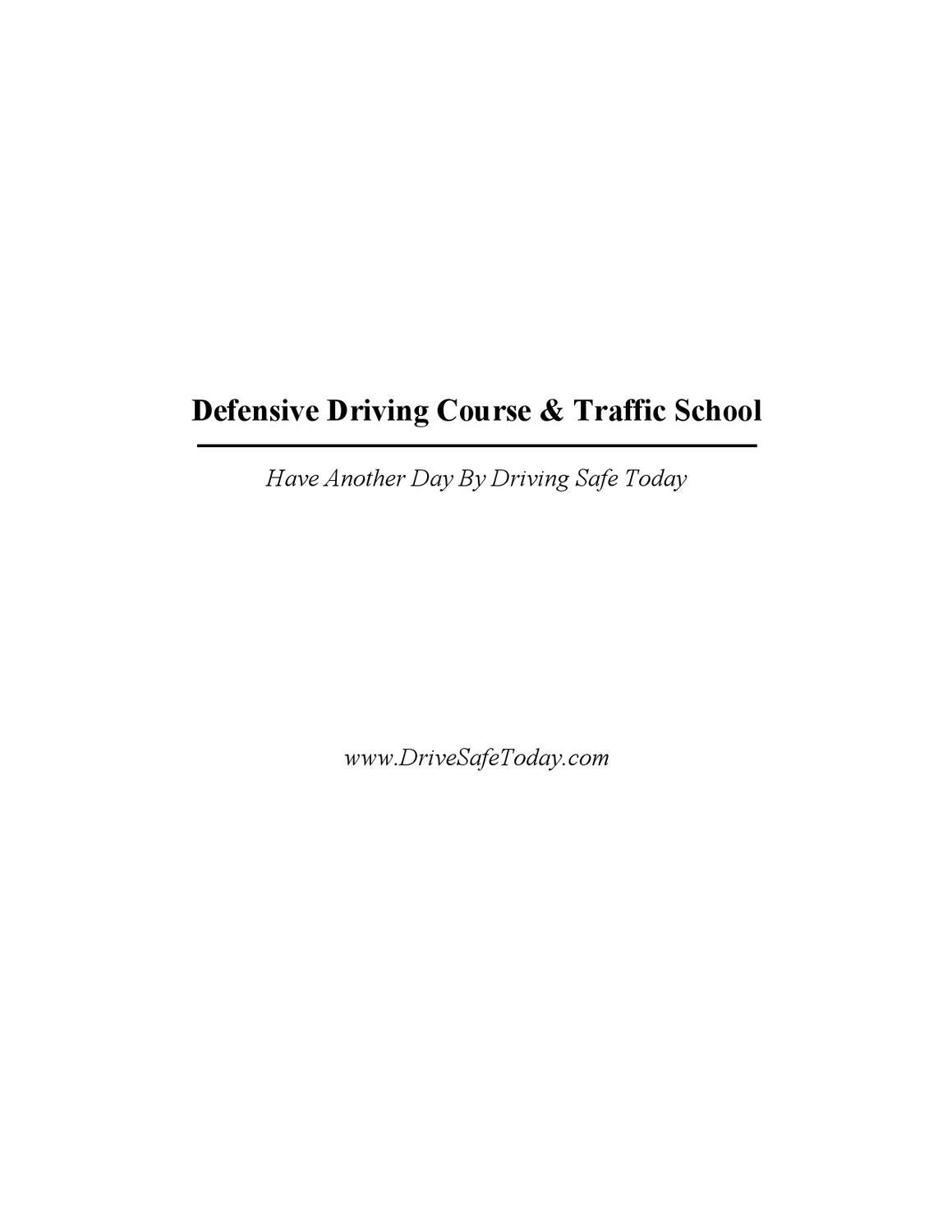 defensive driving course by john tamn - issuu