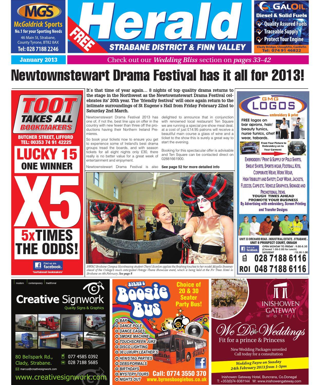 Strabane Herald January Edition 2013 By Neil Murray Issuu