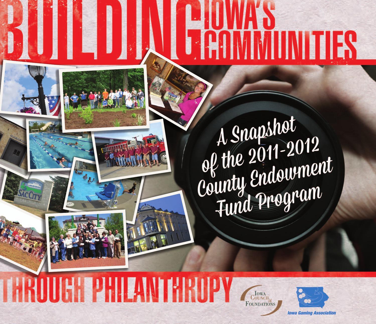 Building Iowas Communities Through Philanthropy The 2011 2012 7 Round Wiring Diagram For Vermeer Trailer County Endowment Program By Angela Dethlefs Trettin Issuu