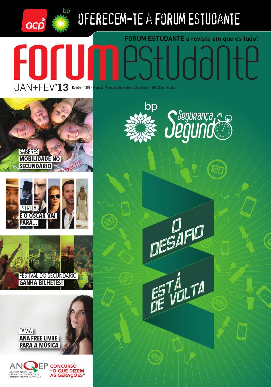 253 Revista Forum Estudante Janeirofevereiro 2013 By Forum