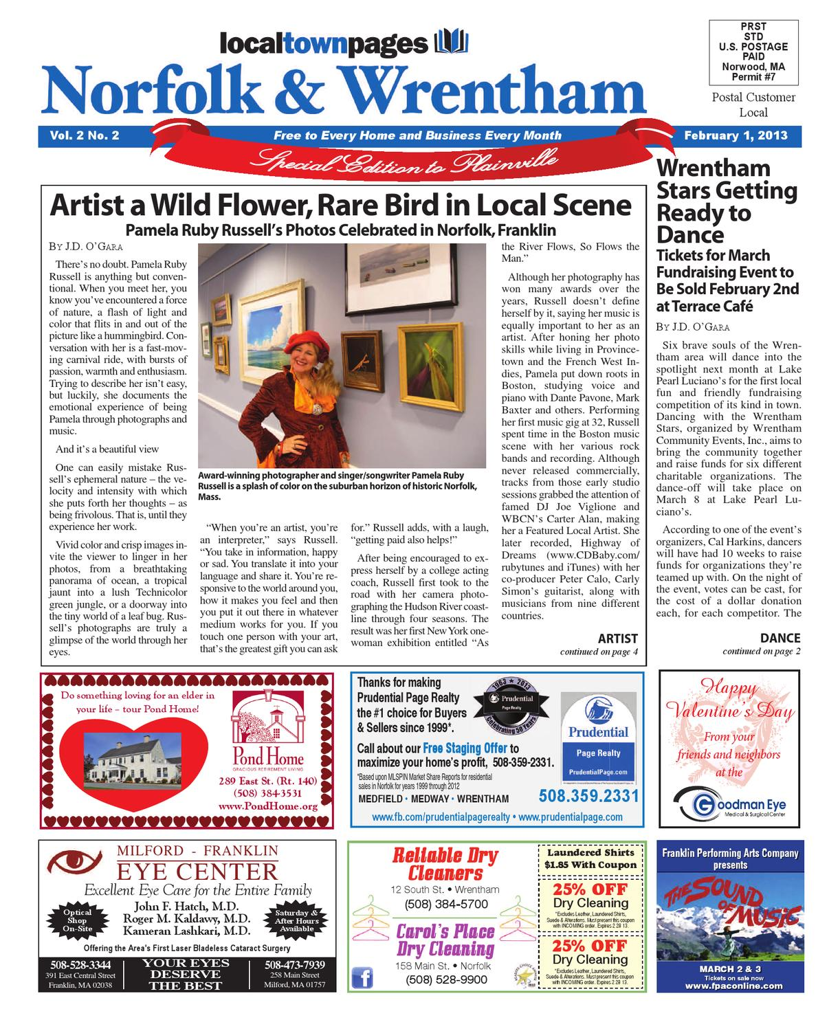 Norfolk/Wrentham February 2013 by Local Town Pages - issuu