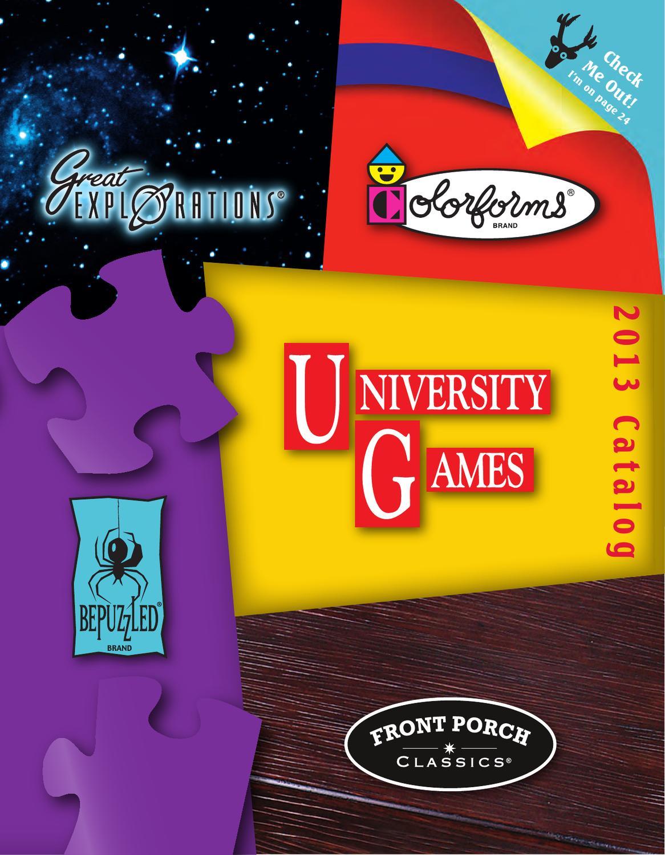 Great Explorations Micro Stars University Games GLOW-19474