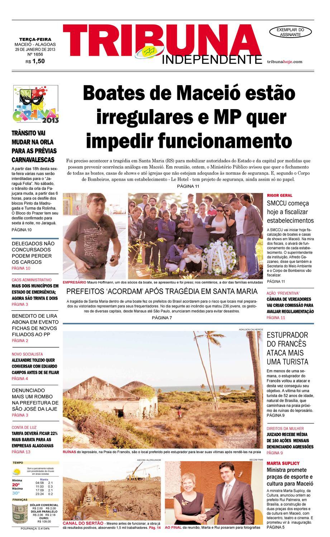 955f71e88d15f Edição número 1656 - 29 de janeiro de 2013 by Tribuna Hoje - issuu