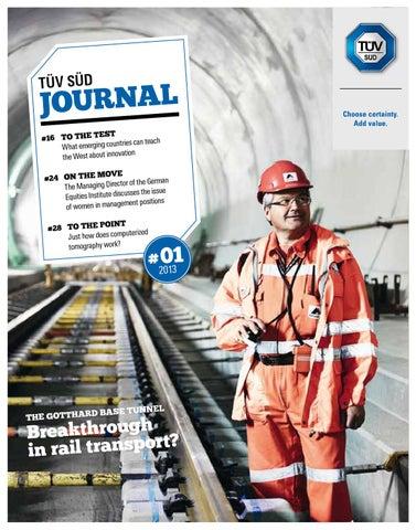 TÜV SÜD Journal 1/2013 (english version) by TÜV SÜD - issuu