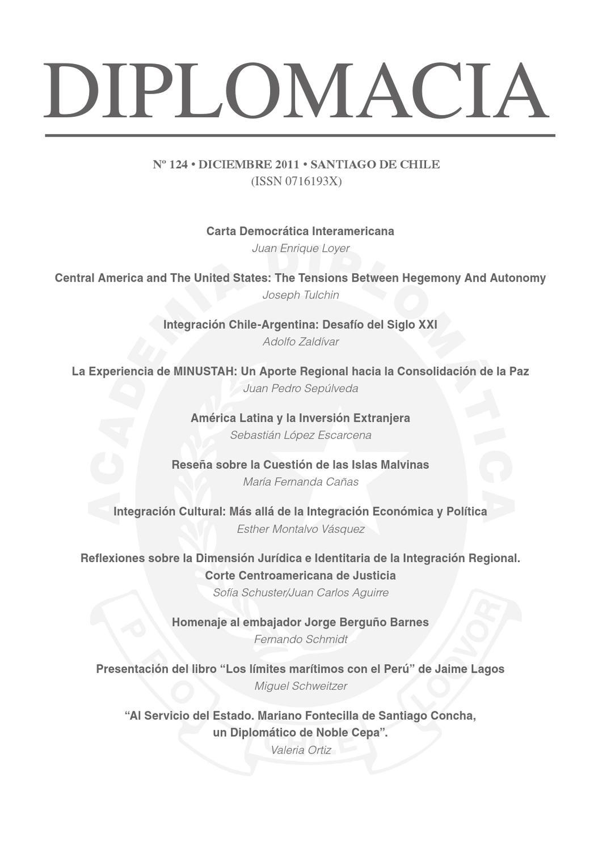 Revista Diplomacia by Apuntes Internacionales - issuu