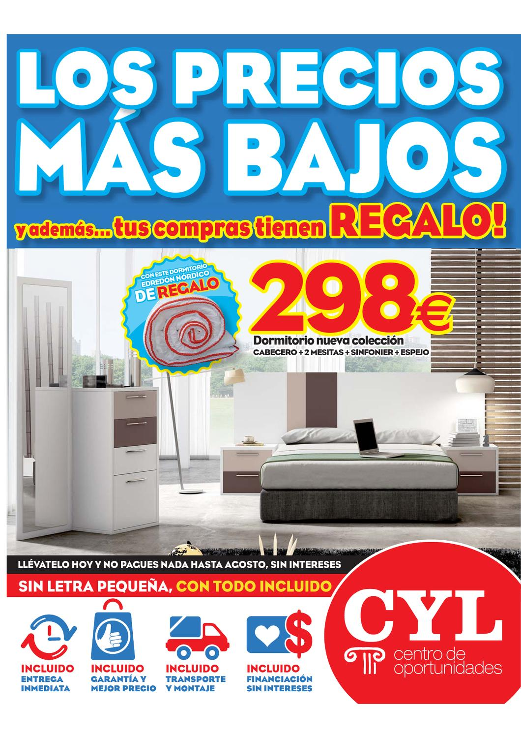 Oportunidades cyl by issuu for Muebles cyl vigo