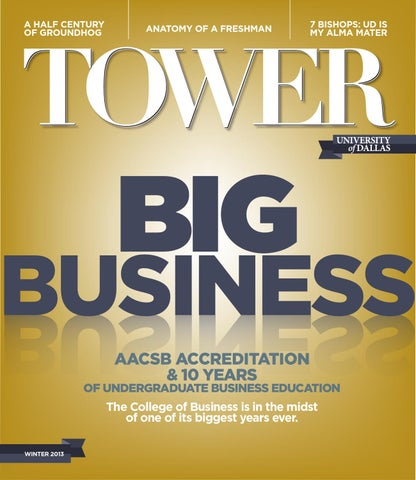 Tower Magazine   Winter 2013 by University of Dallas - issuu