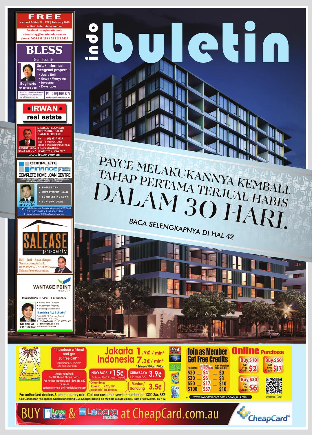 Buletin Indo February 2013 by Buletin Indo - issuu 57a66caa70