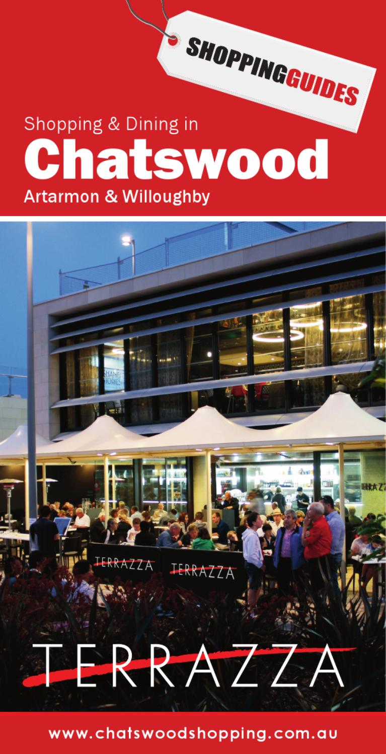 Chatswood 2011 By Shoppingguides Issuu
