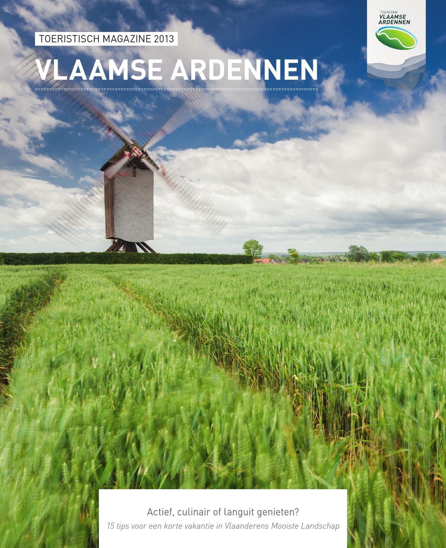 Toeristisch Magazine Vlaamse Ardennen 2013