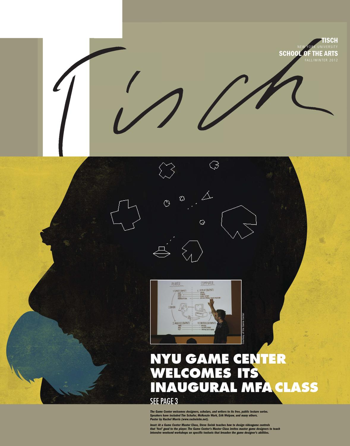 Tisch news by nyu tisch school of the arts issuu for Nyu tisch design