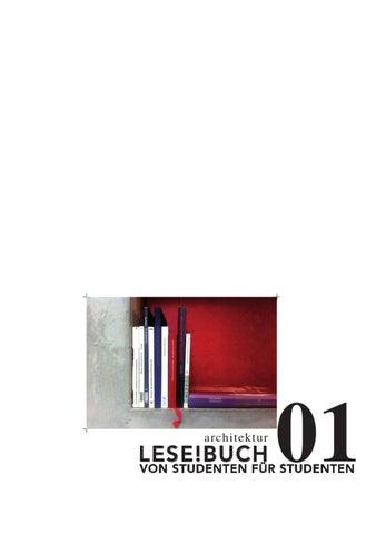 Lese!buch 01 By Alyssa Rau   Issuu