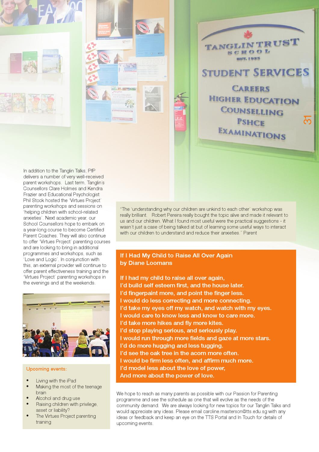 The Voice Issue 13 by Tanglin Trust School - issuu