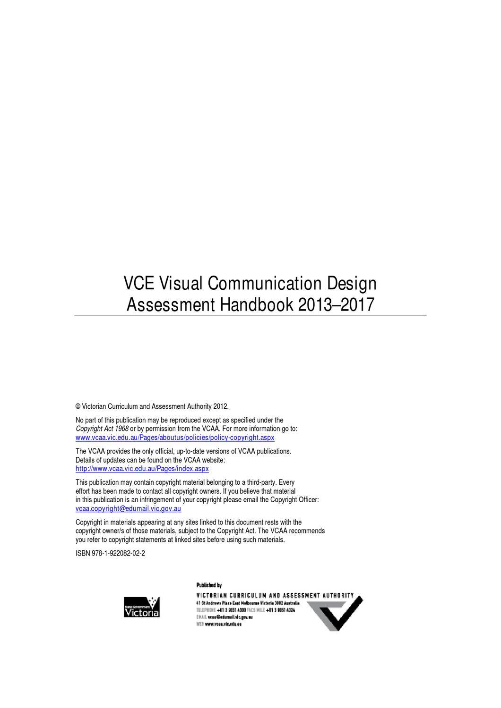 Vcd Assessment Handbook By Elljay Issuu