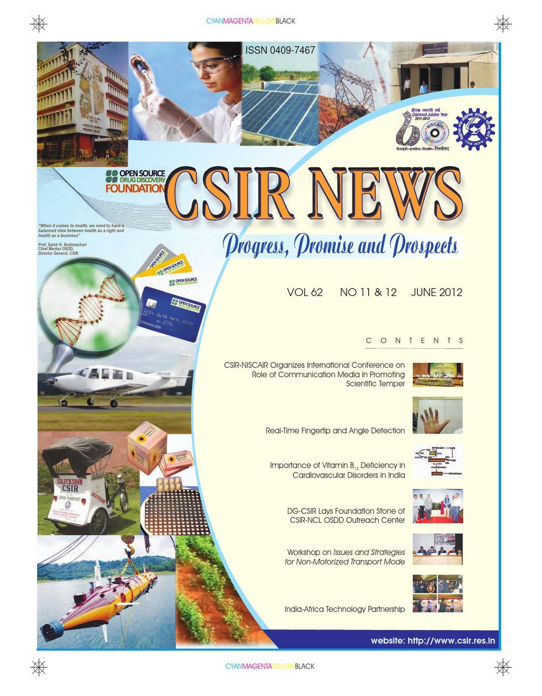 Csir News By Harshali Kamble Issuu Electronics Intrumentation Group Cmeri Durgapur India