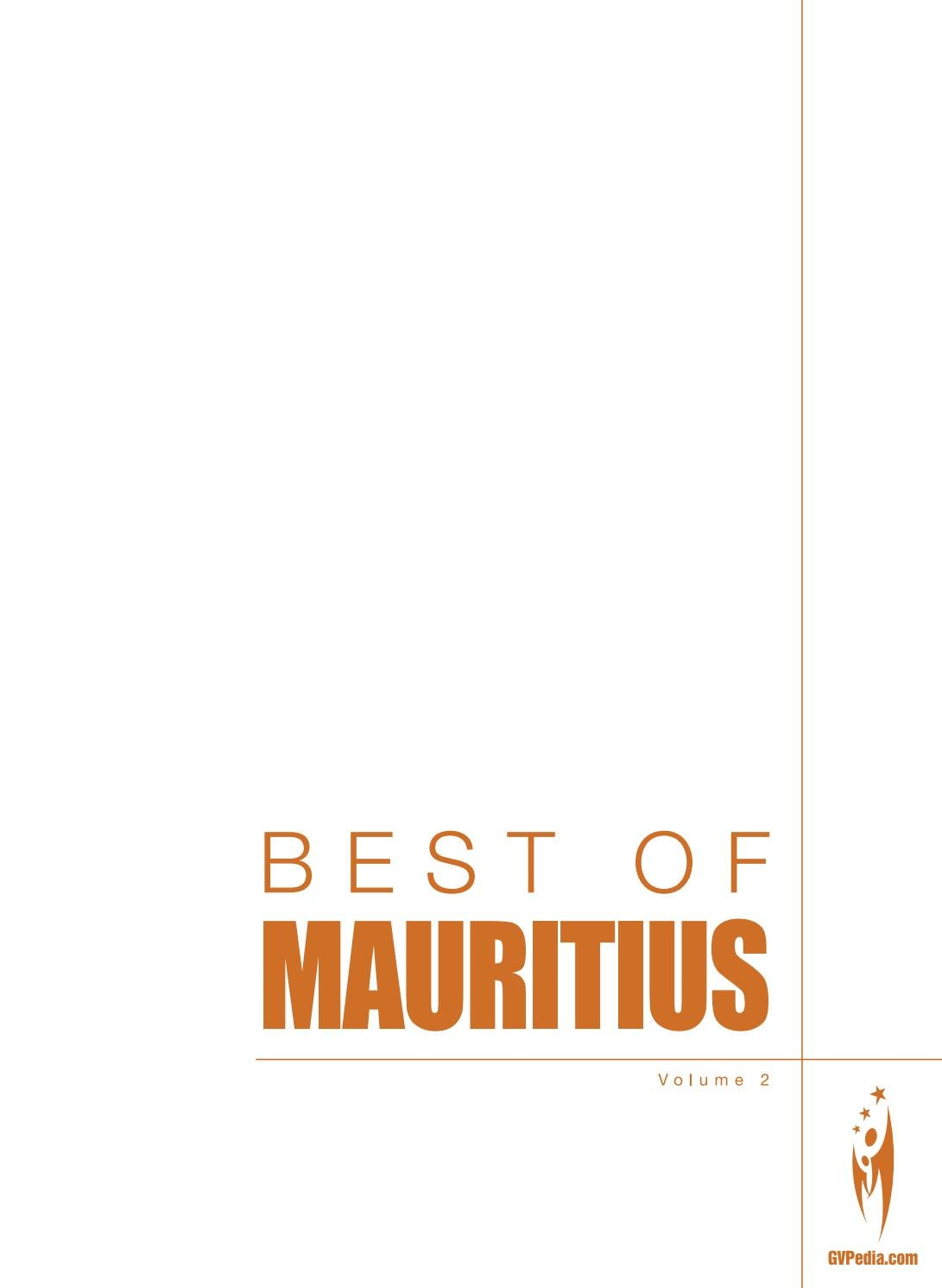 BEST OF MAURITIUS - Volume 2 by Sven Boermeester - issuu cda73bc5faf