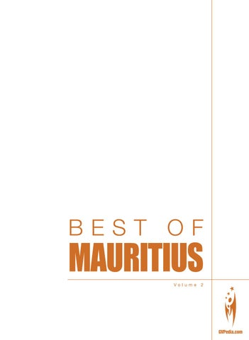 BEST OF MAURITIUS   Volume 2 By Sven Boermeester   Issuu