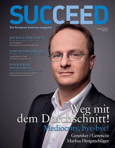 SUCCEED 1/2013 by diabla media verlag - issuu