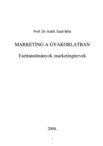 Marketing a gyakorlatban by Edutus Főiskola - issuu 41d127061f
