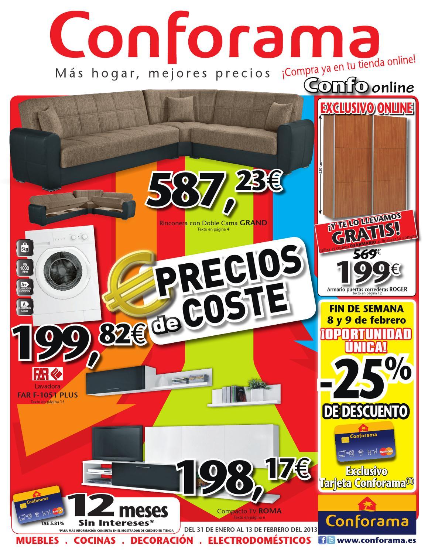 Catalogo conforama muebles de coste by - Catalogo de muebles conforama ...
