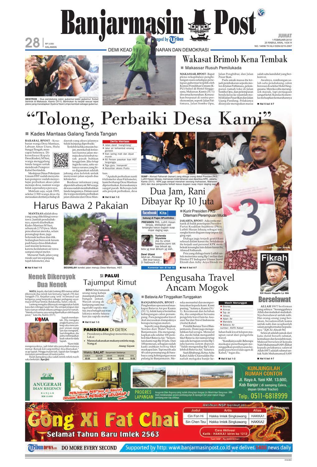 Banjarmasin Post Edisi Jumat aba14518a715f