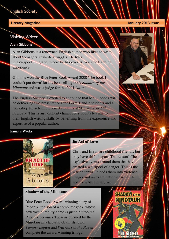 Literary Magazine (Jan) by Eng So - issuu