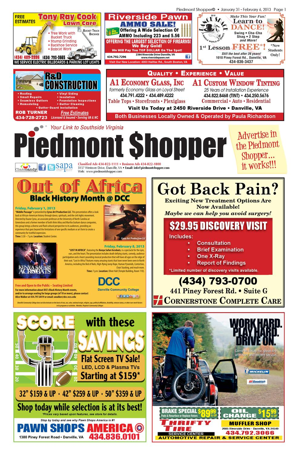 Piedmont Shopper January 31 2013 By Issuu 1991 Chevy S10 Obd1 Code Check Engine