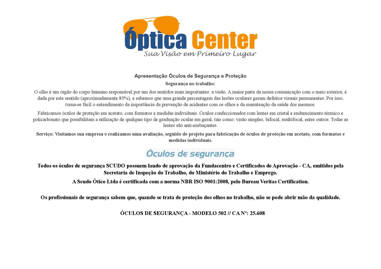 oculos seguranca by Folha de Jandira - issuu 5972662399