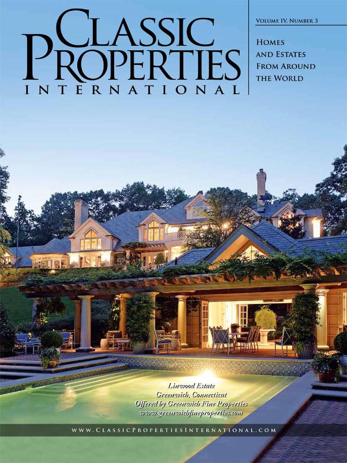 Classic Properties International Vol. IV, No. 3 by Real Property ...