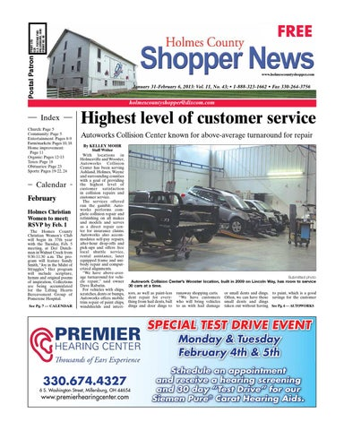 Holmes county shopper jan 31 2013 by gatehouse media neo issuu page 1 fandeluxe Image collections