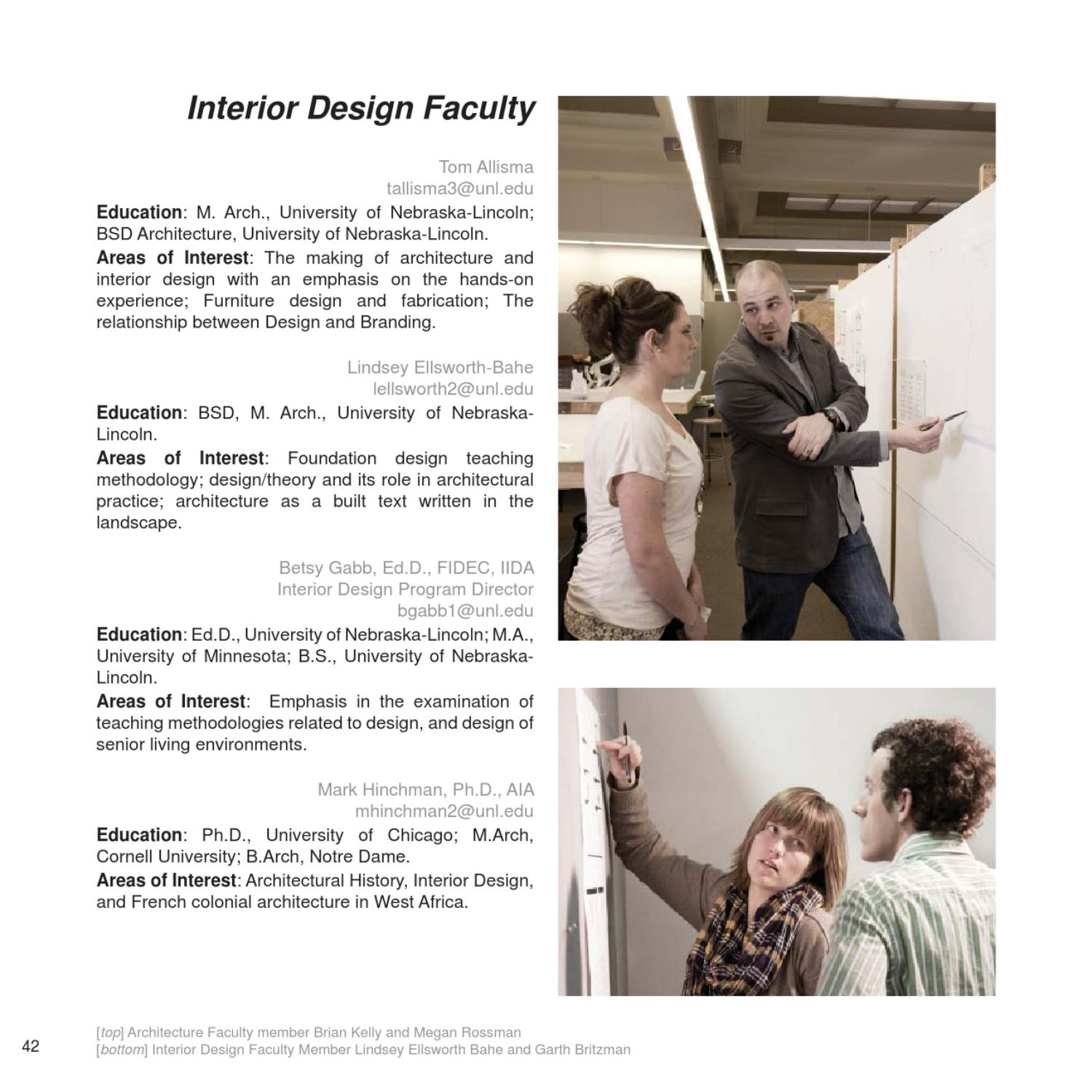Merveilleux Viewbook By UNL  College Of Architecture   Issuu