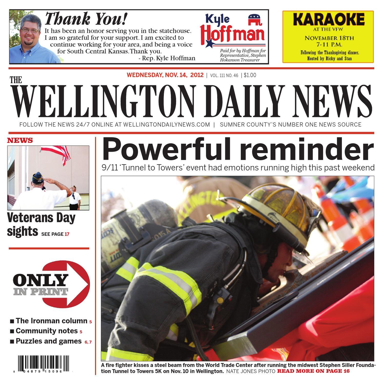 The Wellington Daily News - Nov  14 by Nate Jones - issuu