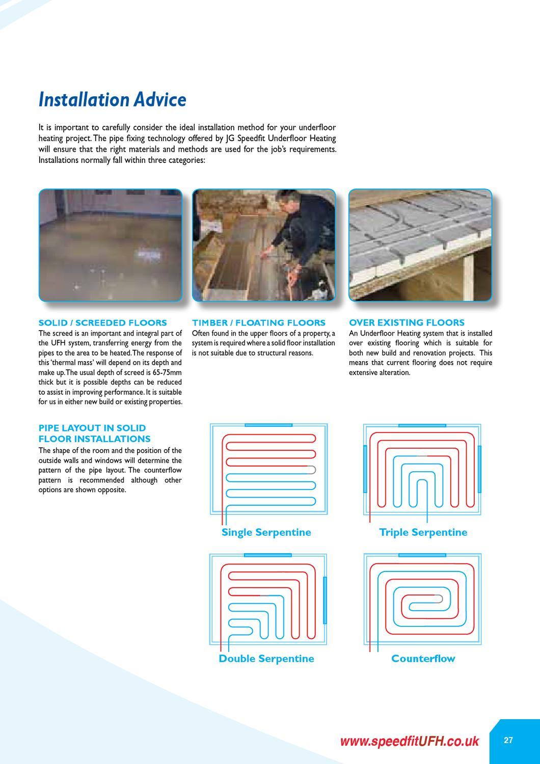 Jg Ufh Cat Z2105 290 0113web By Jk Bathrooms Issuu Piping Layout Engineer Job Description