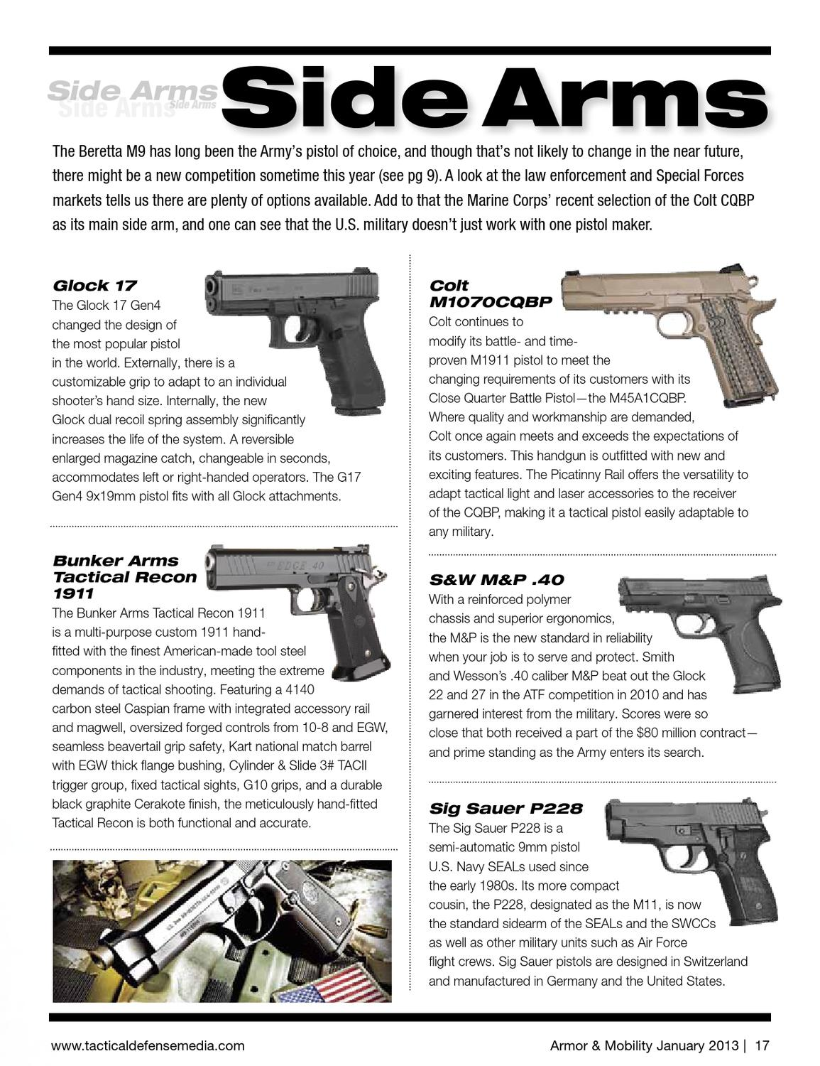 Armor & Mobility, January 2013 by Tactical Defense Media - issuu