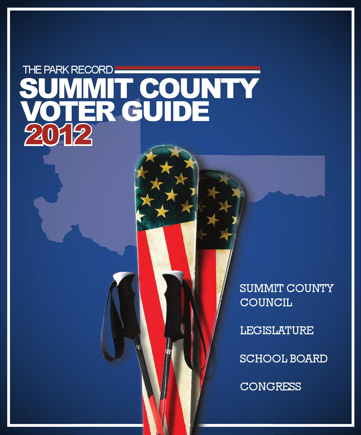 Oakley Store In Park Meadows Mall: Voter Guide Special Section By Sara Sturgis