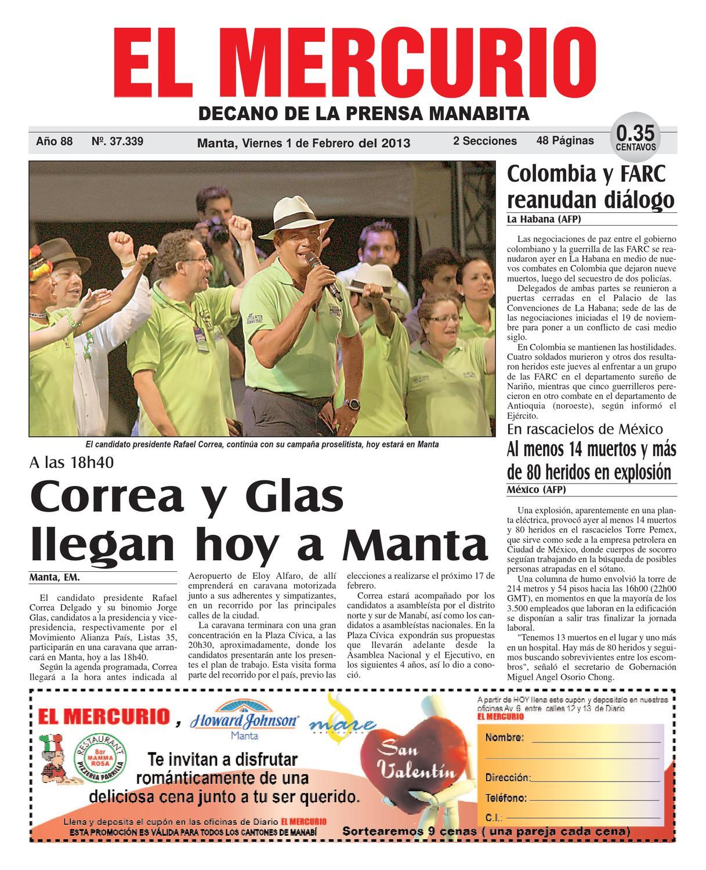 1febrero2013 by Diario El mercurio - issuu