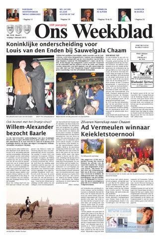 cdf52688291ff7 Ons Weekblad 01-02-2013 by Uitgeverij Em de Jong - issuu