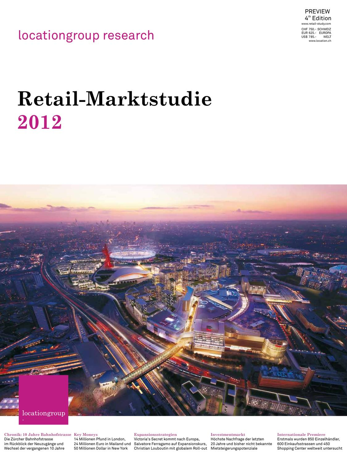 Retail Market Study 2012 Preview by The Location Group issuu