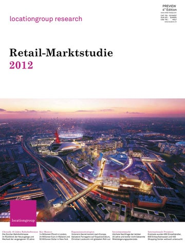 db2a04b18e Retail Market Study 2012 - Preview by The Location Group - issuu