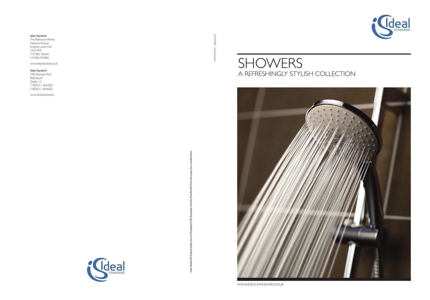 ideal standard showers brochure 2012 by jk bathrooms issuu. Black Bedroom Furniture Sets. Home Design Ideas
