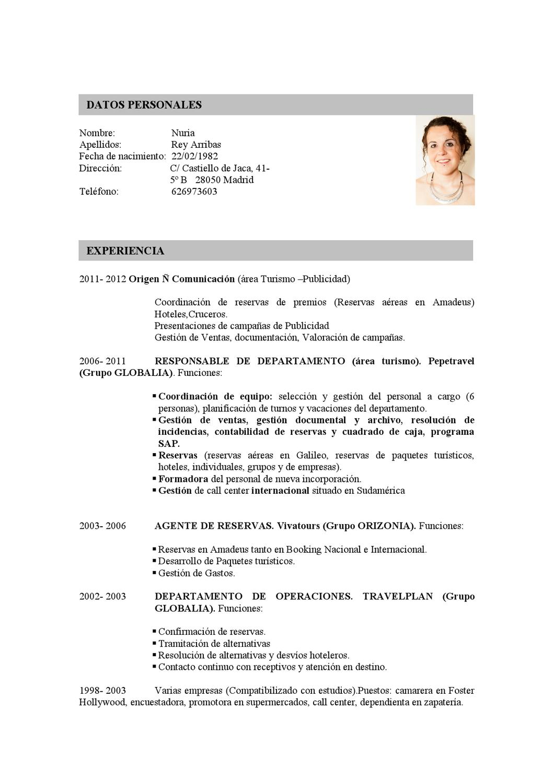 CURRICULUM VITAE by Nuria Rey - issuu