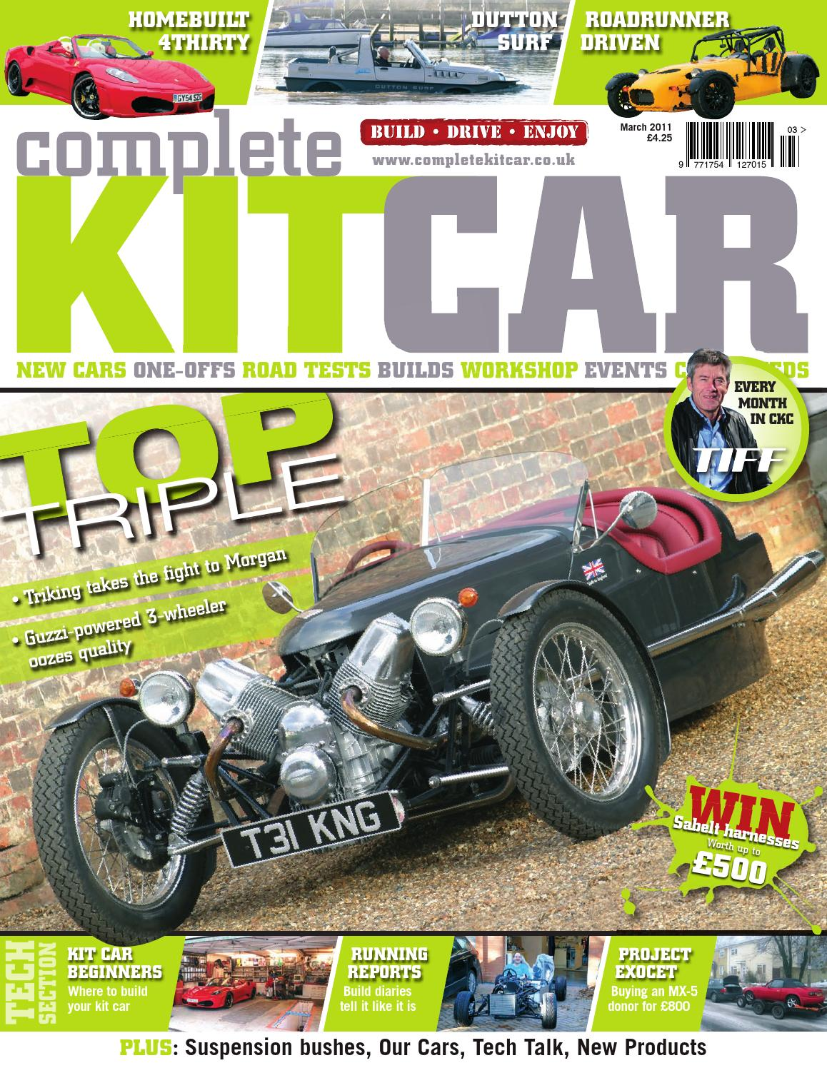 Complete Kit Car magazine March 2011 by Performance Publishing Ltd ...