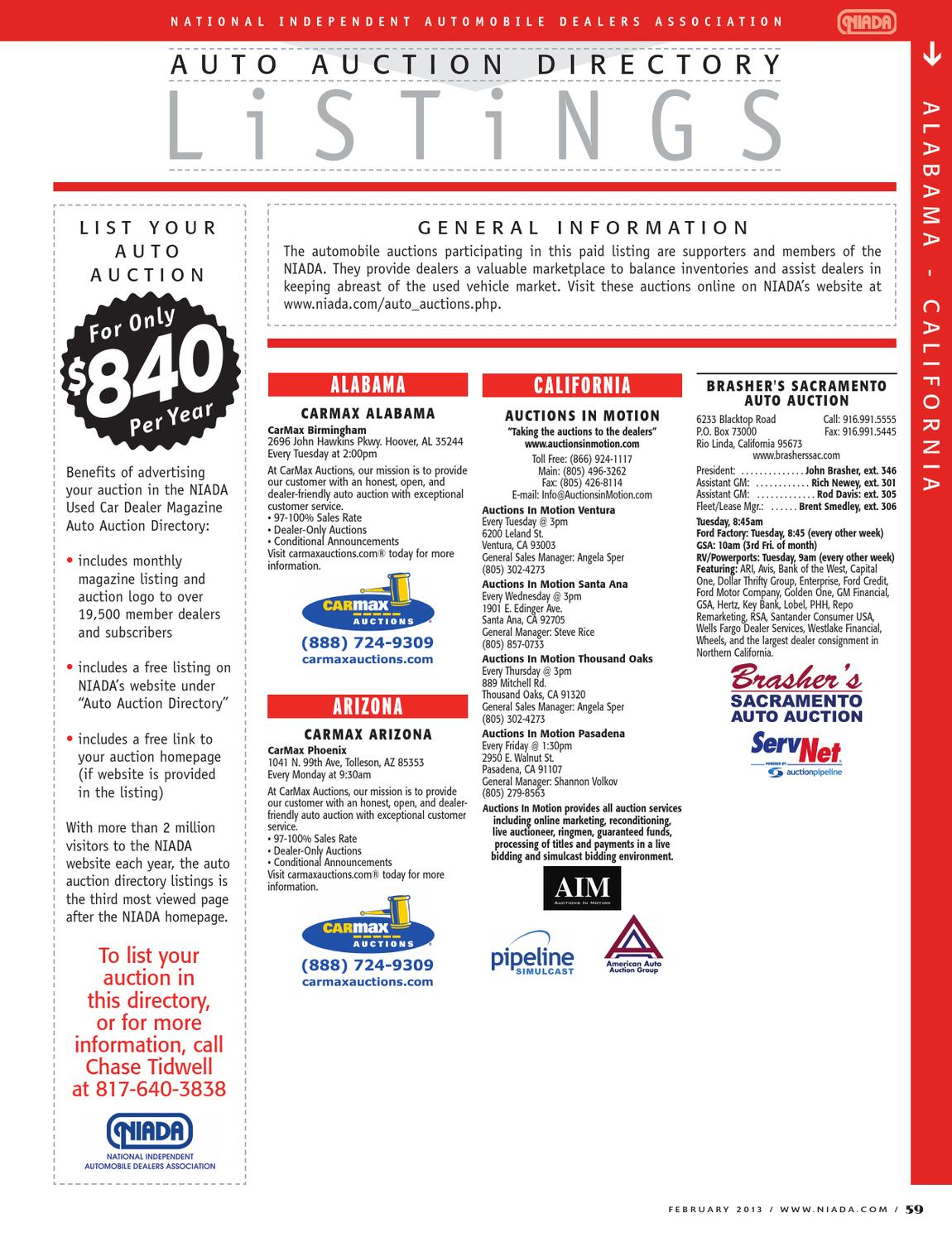 Ital Auto Okc >> February Auto Auction Directory Listings By Niada Issuu