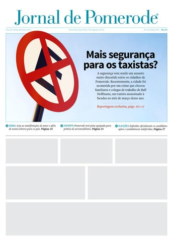 7da94dc4de Jornal de Pomerode – Edição Modelo by Saulo Deboni - issuu