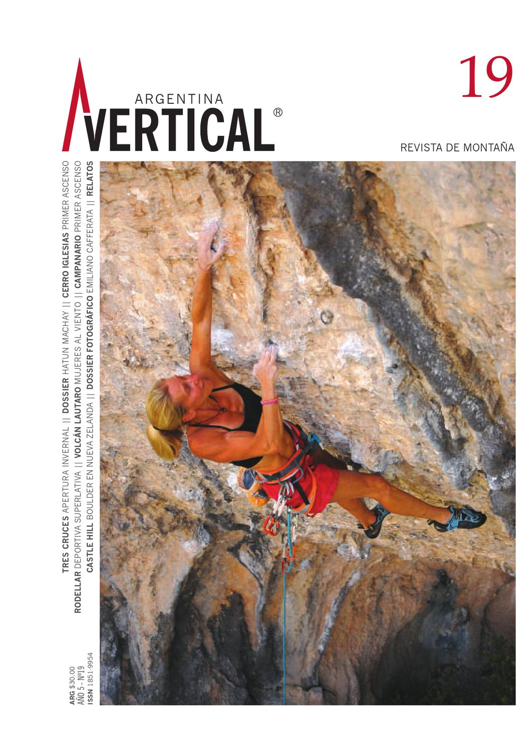 3c0fbd033392 Revista Vertical 19 by Vertical Argentina - Revista de Montaña - issuu