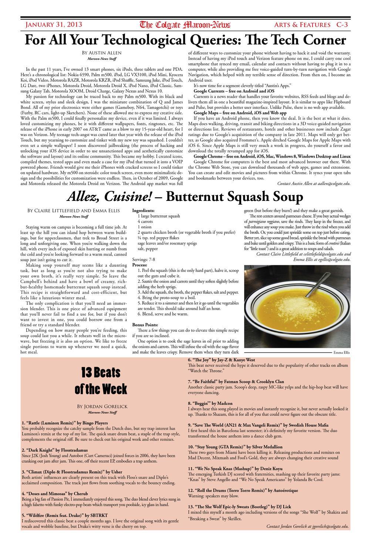 Maroon News 1/31 by The Colgate Maroon-News - issuu