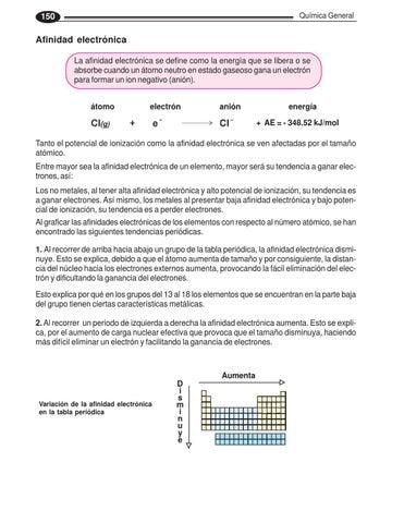 Libro de quimica by edson orozco bedugo issuu page 149 qumica general 150 afinidad electrnica urtaz Gallery