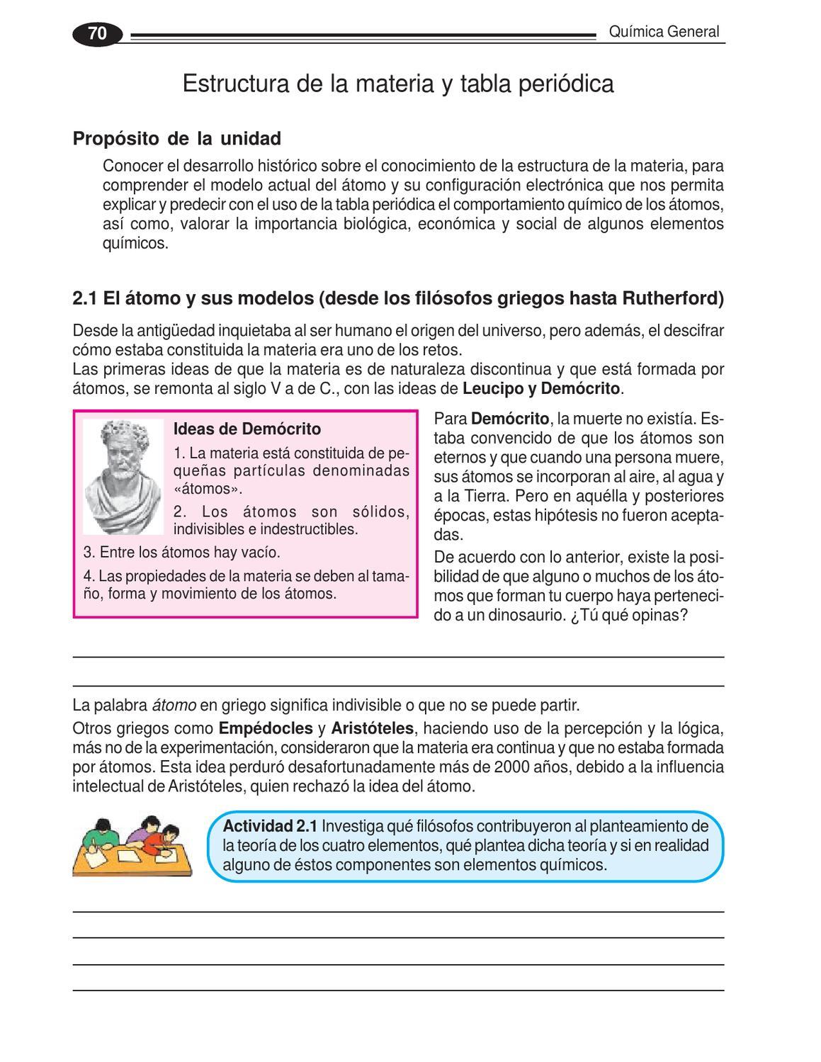 tabla periodica de los elementos quimicos importancia gallery libro de quimica by edson orozco bedugo issuu - Tabla Periodica De Los Elementos Quimicos En Griego