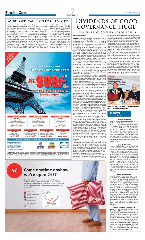 3 Feb 2013 by Kuwait Times - issuu