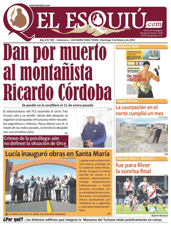 El Esquiu Com Domingo 3 De Febrero 2013 By Editorial El Esqui  # Muebles Doblecinco